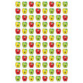 Happy Apples superShapes Stickers 800 Per Pack, 12 Packs