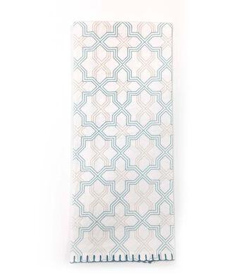 Hudson 43 Pure 16''x28'' Flour Sack Towel-Geometric Print
