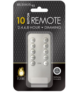 Hudson 43 Motion Flame Candle Remote Control