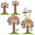 Growing Hearts & Minds Bulletin Board Set