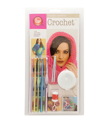 Boye I Taught Myself To Crochet Kit