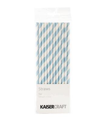 Kaisercraft-Pop! Straws 12/Pkg-Bubblegum