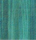 Legacy Studio Batik Fabric -Metallic Scroll on Blue