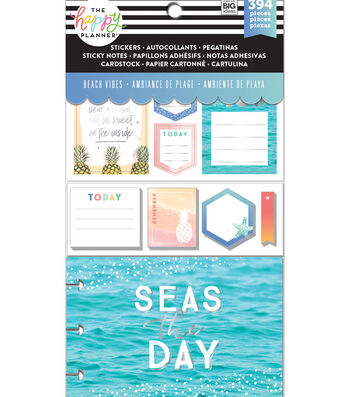 Me & My Big Ideas Coordinated Happy Planner Accessory Pack-Beach Vibes