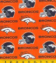 Denver Broncos Cotton Fabric -Orange, , hi-res