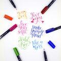 Tombow Fudenosuke Colors 10 pk Brush Pens