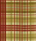 Home Decor Fabric-Waverly Pleasantville Plaid Antique