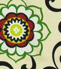 Waverly Sun N Shade Fabric-Pom Pom Play Jewel