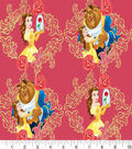 Disney Beauty & The Beast Cotton Fabric -Belle