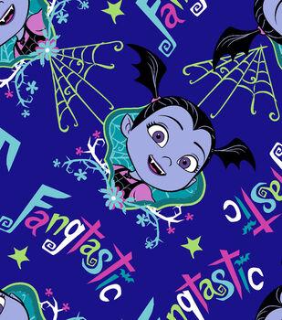 Disney Junior Vampirina Fleece Fabric 59''-Fangtastic
