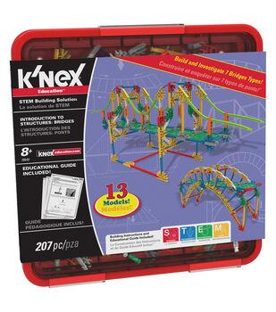 K'NEX Education Introduction to Structures: Bridges Set