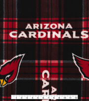 Nfl Arizona Cardinals Plaid Flc, , hi-res
