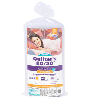"""Fairfield Quilters 80/20-King Size 120"""" x 120"""""""
