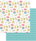 Summer Bucket List Double-Sided Cardstock 12\u0022X12\u0022-Splish Splash
