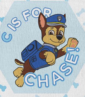 Nick Junior Paw Patrol Flannel Fabric -Alpha Pups