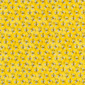 Novelty Cotton Fabric 44\u0022-Mini Bees With Glitter