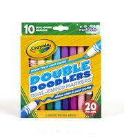 Crayola Double Doodle Markers 10/Pkg, , hi-res