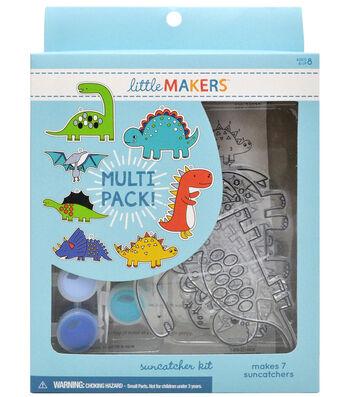 Little Makers Suncatcher Kit-Dinosaur