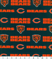 Chicago Bears Cotton Fabric -Mascot Logo, , hi-res