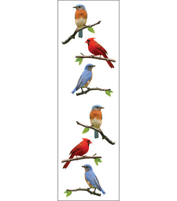Mrs. Grossman's Stickers-Birds