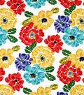 Robert Allen@Home Upholstery Fabric 54\u0022-Bouquet Calypso