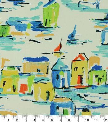 Covington Outdoor Print Fabric 54''-Multi Pacifica