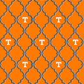 University of Tennessee Volunteers Cotton Fabric -Trellis Logo