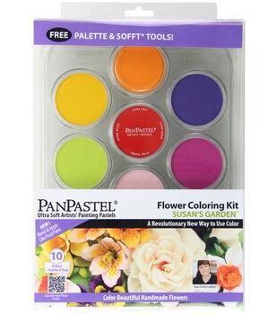 PanPastel Ultra Soft Artists' Painting Pastels Flower Coloring Kit