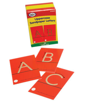 Didax Uppercase Sandpaper Letters