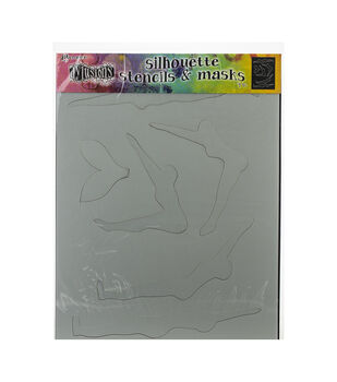 "Dyan Reaveley's Dylusions Stencils 9""X12""-Make A Splash"