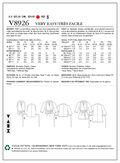 Vogue Patterns Misses Top-V8926