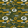 Green Bay Packers Cotton Fabric-Hometown