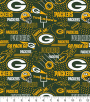 "Green Bay Packers Cotton Fabric 44""-Hometown, , hi-res"