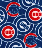 Chicago Cubs Fleece Fabric -Logo, , hi-res
