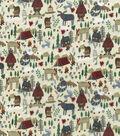 Novelty Cotton Fabric -Camping Mix
