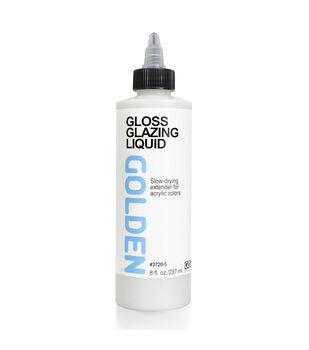 Golden Artist Colors 8 fl. oz. Gloss Glazing Liquid