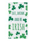 St. Patrick\u0027s Day 16 pk Paper Napkins-Shamrocks, Eat, Drink & Be Irish