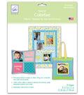 June Tailor Colorfast Sew-In Inkjet Fabric Sheets-8-1/2\u0022 x 11\u0022-25/Pkg