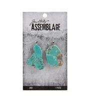 Tim Holtz Assemblage Links-Turquoise Nuggets, , hi-res
