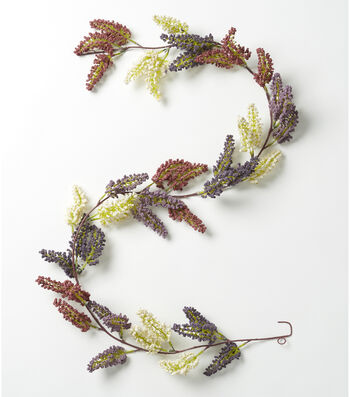 Fresh Picked Spring 66'' Heather Garland-Multicolored
