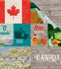 Around The World Double-Sided Cardstock 12\u0022X12\u0022-Canada