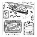 Viva Decor 11 pk Clear Stamps-Adventure