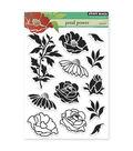 Penny Black Clear Stamps 5\u0022X6.5\u0022 Sheet -Petal Power
