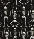 Doodles Halloween Interlock Cotton Fabric 57\u0022-Dancing Skeletons