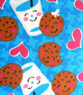 Snuggle Flannel Fabric -Cookies And Milk