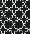 Quilter\u0027s Showcase Cotton Fabric-Flower Black/White