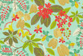HGTV Home Outdoor Fabric-HGTVod Fancy A Floral   Caribbean
