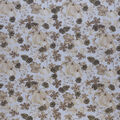 Harvest Cotton Fabric-Pumpkins & Pinecones Light Glitter