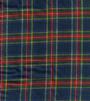 "Cotton Shirting Fabric 41""-Plaid"