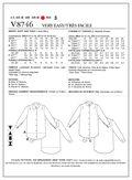 Mccall Pattern V8746 E5 (14-16--Vogue Pattern
